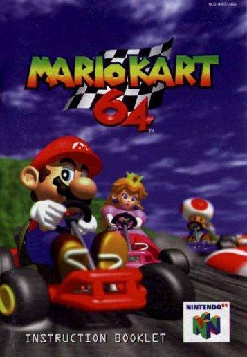 Mario Kart 64 - Manual - FRIBERT.NU