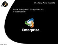 Inside Enterprise 7: Integrations and Customizations - WoodWing ...