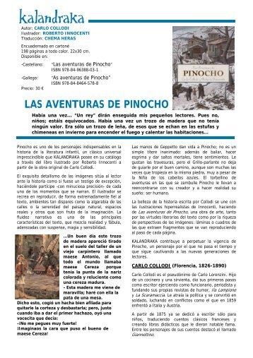Las aventuras de Pinocho - Kalandraka