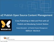 eZ Publish WebCMS.pdf - WoodWing Community Site