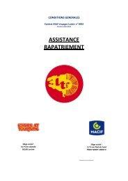 ASSISTANCE RAPATRIEMENT - Loisirs et Tourisme