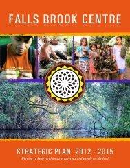 Strategic Plan 2012-201 - Falls Brook Centre