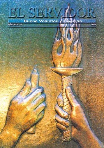 EL SERVIDOR N° 19 – Año 2005 - Fundación Lucis