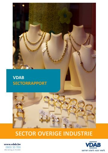 SECTOR OVERIGE INDUSTRIE - VDAB