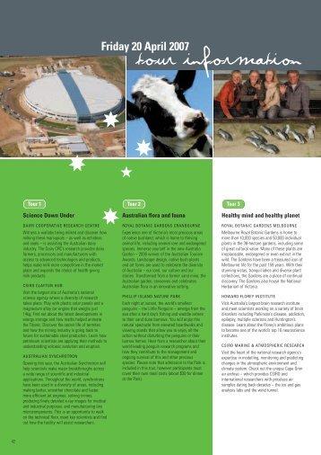 day tours - wcsj2007.org