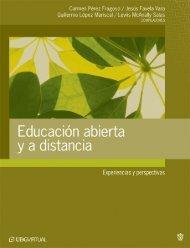 Educación abierta ya distancia