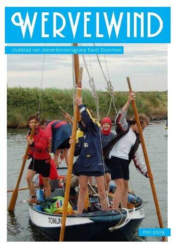 mei 2009 clubblad van zeeverkennersgroep Karel Doorman