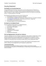 H1-Scouting Nederland.pdf - ScoutNet Nederland