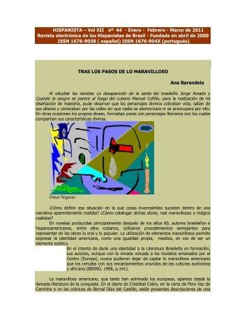 HISPANISTA – Vol XII nº 44 - Enero - Febrero - Marzo de 2011 ...