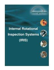Internal Rotational Inspection Systems (IRIS) - Innospection