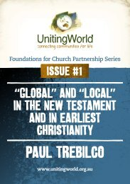 PauL TrEbiLCo - UnitingWorld