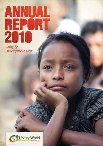 Annual Report 2010 - UnitingWorld