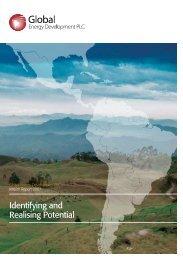 Interim Report 2007 - Global Energy Development