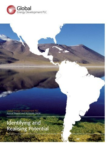 Annual Report 2008 - Global Energy Development