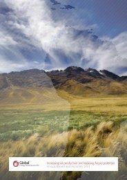 Annual Report 2011 - Global Energy Development