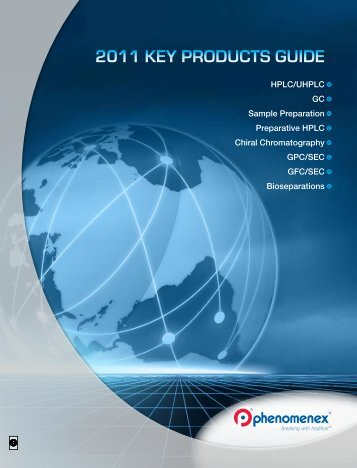 2011 Key Products Guide - Fortune Scientific Co., Ltd.