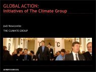 View the Presentation Slides - Climate Change Summit