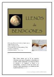 LLENOS de BENDiCiONES - Orar con una Palabra