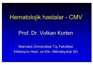 Hematolojik hastalar - CMV