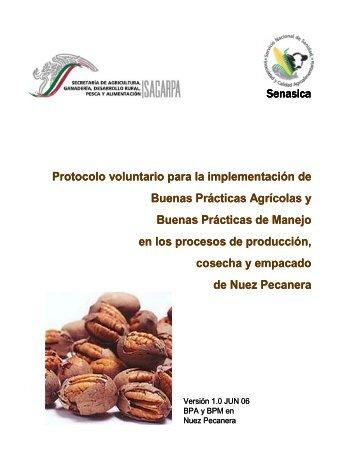 Protocolo voluntario para la implementación de Buenas ... - Senasica