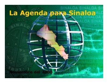 La Agenda para Sinaloa - Soluciones Dinámicas