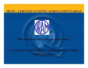 Calidad y seguridad agroalimentaria