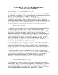 SUSPENSIÓN DE LA INVESTIGACIÓN ANTIDUMPING: TOMATES ...