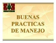 Buenas Practicas de Manejo en Sinaloa