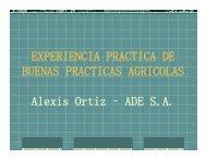 EXPERIENCIA PRACTICA DE BUENAS PRACTICAS AGRICOLAS ...