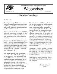 Wegweiser November 2005.pub - GTEV Edelweiss Detroit