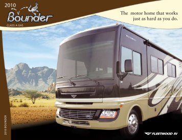 The motor home that works just as hard as you do. - RVUSA.com