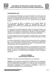 Reglameto Visitas Guiadas - ENP 8 - Universidad Nacional ...