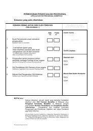 pemohonan pengecualian provisional - Bahagian Perkhidmatan ...