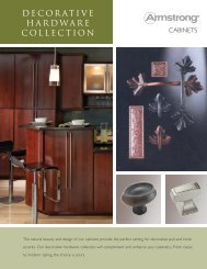 DECORATIVE HARDWARE COLLECTION - Armstrong