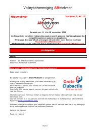 Nieuwsbrief AMstelveen Jr 2 Nr 12 - vvAMstelveen