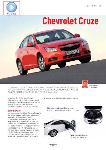 Chevrolet Cruze - Revista Cesvimap