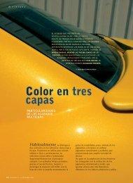 Color en tres capas - Revista Cesvimap