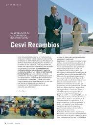 Cesvi Recambios - Revista Cesvimap