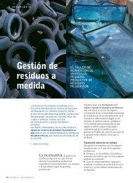 Gestión de residuos a medida - Revista Cesvimap