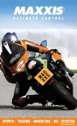 MCN Maxxis Tyre Supplement