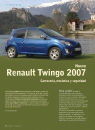 Nuevo Renault Twingo 2007 - Seguros MAPFRE