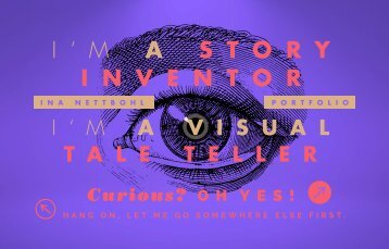 Portfolio Ina Nettbohl / Communication Designer