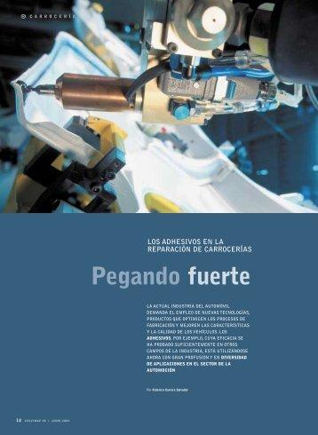 Pegando fuerte - Revista Cesvimap