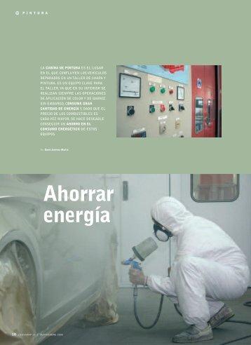 Ahorrar energía - Revista Cesvimap