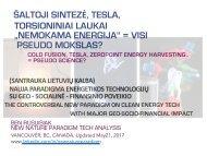 """Šaltoji termobranduolinė sintezė : """"Nemokama energija"""