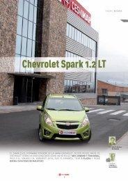 maqueta CHEVROLET SPARK rectificada ... - Revista Cesvimap
