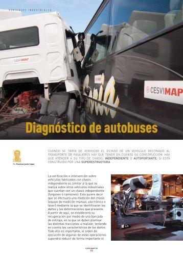 Diagnóstico de autobuses - Revista Cesvimap