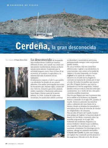 Cerdeña, la gran desconocida - Revista Cesvimap
