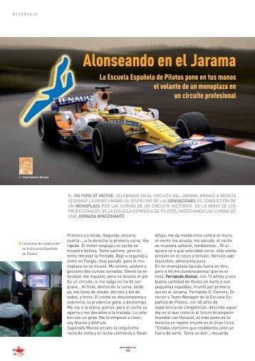 Alonseando en el Jarama - Revista Cesvimap