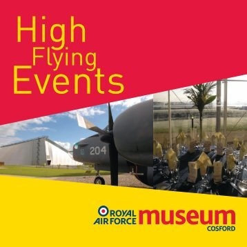 Corporate Events Brochure - RAF Museum